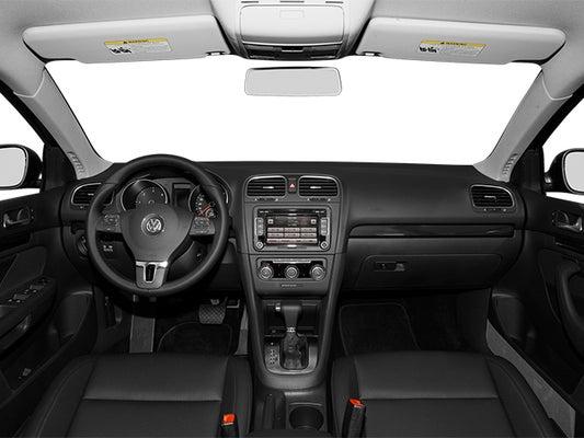 2014 Volkswagen Jetta 4dr Manual TDI w/Sunroof