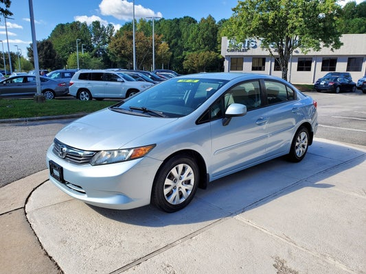 2012 Honda Civic 4dr Auto Lx In Raleigh Nc Raleigh Honda Civic Leith Chrysler Jeep 19xfb2f53ce006292