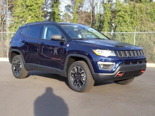 2020 Jeep Compass Trailhawk 4x4 In Raleigh Nc Raleigh Jeep Compass Leith Chrysler Jeep 3c4njddbxlt161985